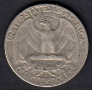USA 1/4 Dollars 1958 D KM-164 ( 1+  ) Hopeaa
