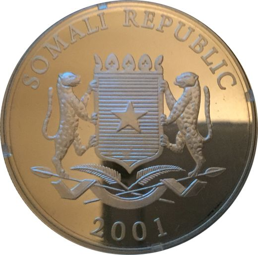 Somalia 100 shillings 2001 ( PROOF ) Olympic Games