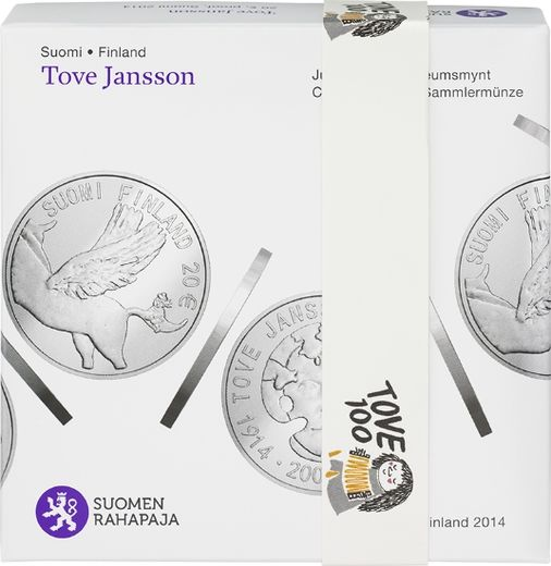 20 Euro 2014 ( PROOF 00 ) Tove Jansson