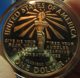 USA 1 Dollar 1986S KM-214 STATUE OF LIBERTY CENTENIAL ( PROOF )
