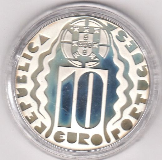 Portugali 10 Euro 2004 KM-957a ( PROOF ) Olympic Games 2004 in Athens