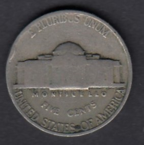 USA 5 Cents 1939 KM-192 ( 1 )