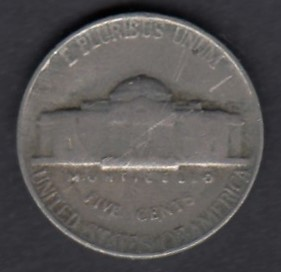 USA 5 Cents 1954 KM-A192 ( 1 )