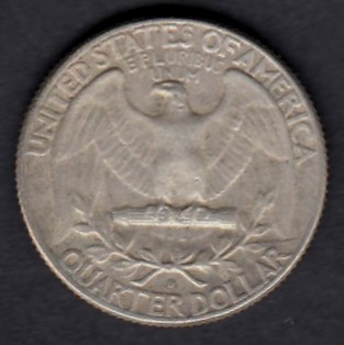 USA 1/4 Dollars 1964 D KM-164 ( 1+  ) Hopeaa