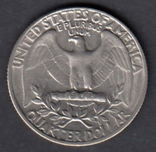 USA 1/4 Dollars 1966 KM-164a ( 01 )