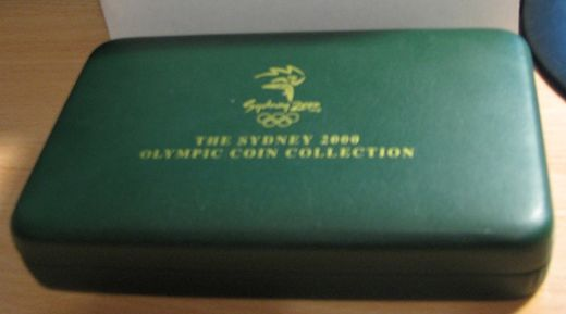 2000 Sydney 2000 Olympic collection ( Gold and silver coins ) PROOF  Tod + laatikko