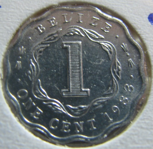 Belize 1 Cent 1983 KM-33a ( 01-0 )