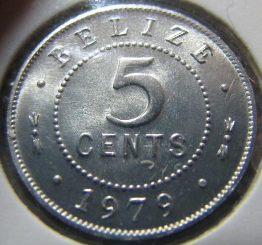 Belize 5 Cent 1979 KM-34a ( 01-0 )