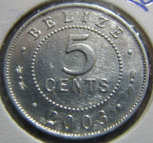 Belize 5 Cent 2003 KM-34a ( 01-0 )