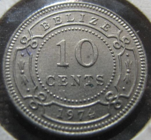 Belize 10 Cent 1974 KM-35 ( 01-0 )