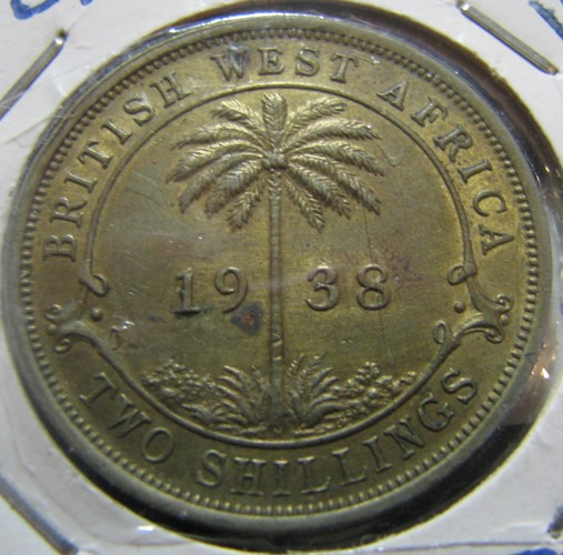 British West Africa 2 Shilling 1938 KM-24 ( 01 )