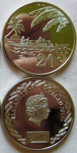Tokelau 20 cents 2012 ( 01-0 )