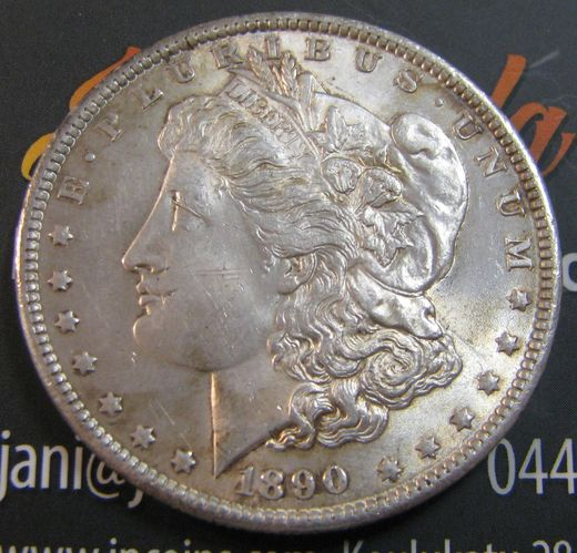 USA 1 Dollar 1890 KM-110 ( 01 ) MORGAN DOLLAR